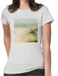 Mountains - Vintage Olympic Clouds in the Forest Womens Fitted T-Shirt