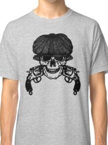 Gun Skull Peaky Blinders shirt for Fans Classic T-Shirt