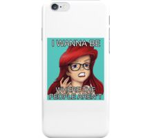 Anywhere but here \\ Ironic Royalty Collection iPhone Case/Skin