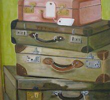 Voyage des Valises  by Lynn Ahern Mitchell
