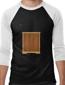 Glitch Furniture bag cabinet ok 4 4 Men's Baseball ¾ T-Shirt
