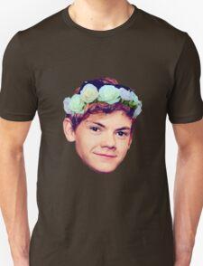 Thomas Brodie-Sangster Flower Crown Unisex T-Shirt