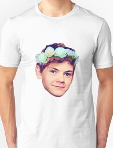 Thomas Brodie-Sangster Flower Crown Unisex T-Shirt