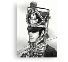 Male Hussar:1 Canvas Print