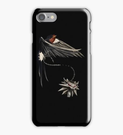 Witcher 3 - Sparrow and Wolf iPhone Case/Skin