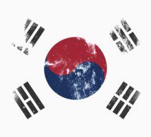 Flag of South Korea One Piece - Short Sleeve