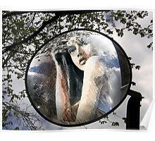 mirror retro Poster
