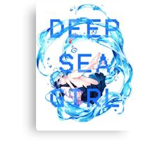 Deep Sea Girl - Hatsune Miku Canvas Print