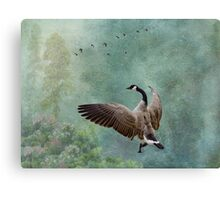 Until you spread your wings, you'll have no idea how far you can fly. Canvas Print