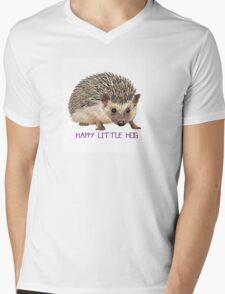 Happy Little Hog \\ Modern Creatures Mens V-Neck T-Shirt