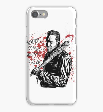 Negan - Eeeny Meeny iPhone Case/Skin