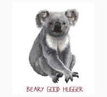 Beary Good Hugger \\ Modern Critters Kids Tee