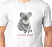 Beary Good Hugger \\ Modern Critters Unisex T-Shirt