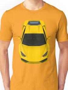 Yellow supercar Unisex T-Shirt