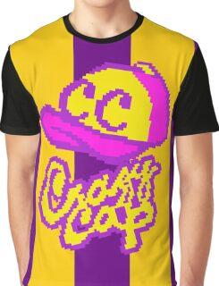 8-bit Crazy Cap Graphic T-Shirt