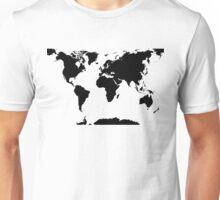 Erde - Welt - Weltkart Unisex T-Shirt