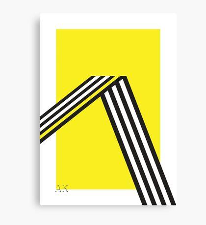 Geometric construction 01B Canvas Print