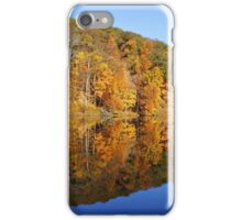 Pounds Hollow Lake in Autumn iPhone Case/Skin