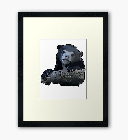 9 GAG - Confession Bear - Cartoon Framed Print