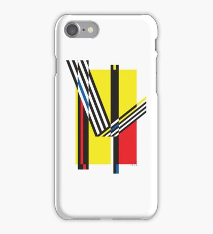 Geometric composition 03 iPhone Case/Skin