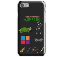 NINJA TURTLE recipe iPhone Case/Skin