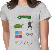NINJA TURTLE recipe Womens Fitted T-Shirt