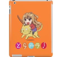 Tagia on Tiger iPad Case/Skin