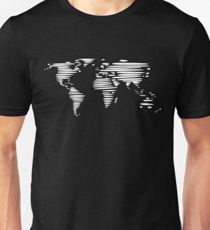 Weltkarte - Welt - Erde Unisex T-Shirt