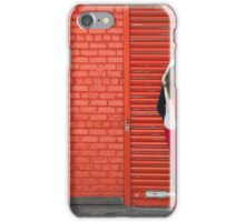 Color Me Red iPhone Case/Skin