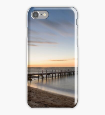 One star out at Safety Beach Pier iPhone Case/Skin