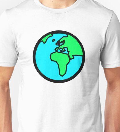 Globus - Welt - Erde Unisex T-Shirt