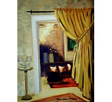 Hearth and Home, the Parlour Photographic Print