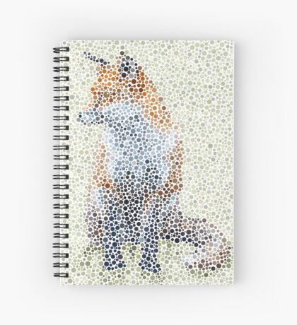 Friendly, Furry, Fabulous Fox Spiral Notebook