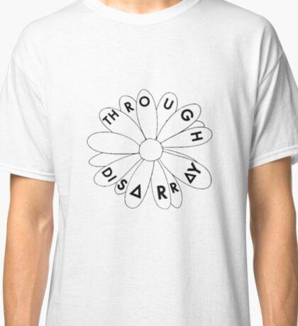 Flower through disarray (black) Classic T-Shirt