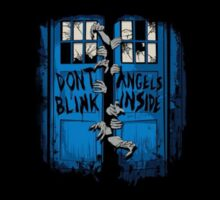 Don´t blink. Angels inside. Sticker