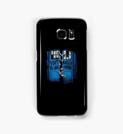 Don´t blink. Angels inside. Samsung Galaxy Case/Skin