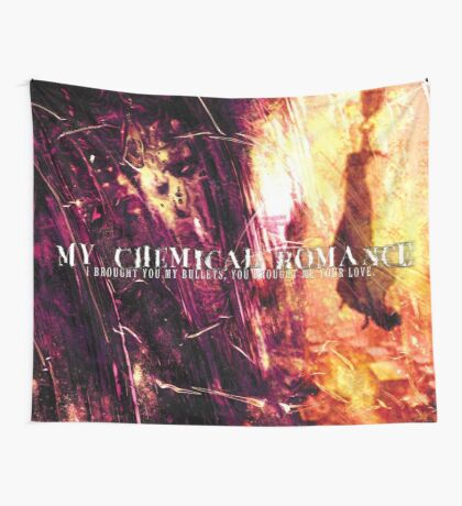 I Brought You My Bullets, You Brought Me Your Love Flag Wall Tapestry