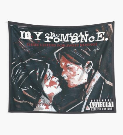 Three Cheers For Sweet Revenge Flag Wall Tapestry