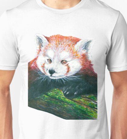 Red panda bear Unisex T-Shirt