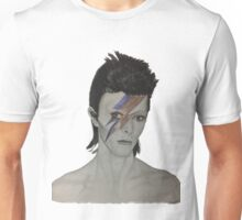 David Bowie Tribute Drawing Unisex T-Shirt