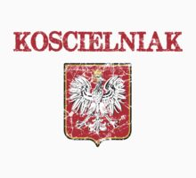 Koscielniak Surname Polish Kids Clothes