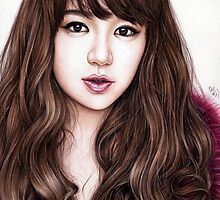 Yoon Eun Hye by DendaReloaded