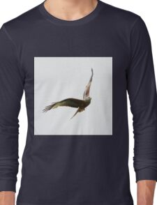 Red Kite in flight Long Sleeve T-Shirt