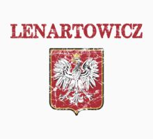 Lenartowicz Surname Polish Kids Clothes