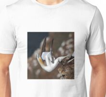 Nortern Gannet taking off Unisex T-Shirt