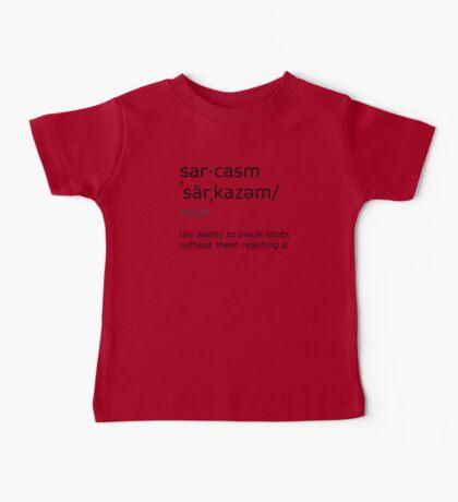 sarcasm Baby Tee