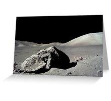 Apollo 17   Greeting Card