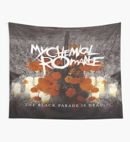 The Black Parade Is Dead Flag Wall Tapestry