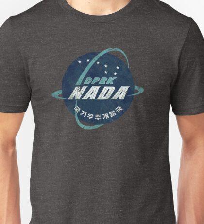 North Korean Space Agency Vintage Emblem Unisex T-Shirt