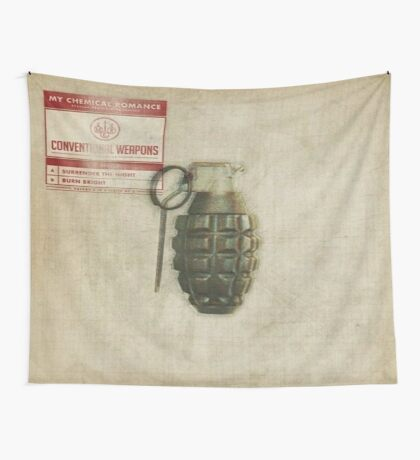 Conventional Weapons Number Five Flag Wall Tapestry